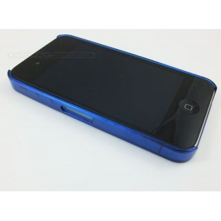 Bumper (blau) transparent für iPhone 4/4S