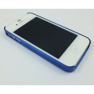 Bumper (blau) transparent für iPhone 5/5S/SE