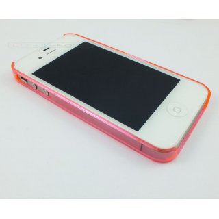 Bumper (pink) transparent für iPhone 5/5S/SE