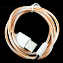 100cm (orange) Lollipop micro USB Daten- und Ladekabel...